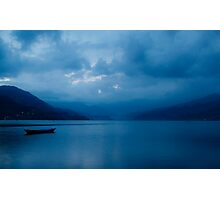 Tranquil Blue Photographic Print
