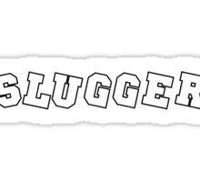 Slugger Black Sticker