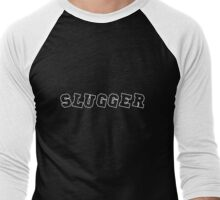 Slugger White Men's Baseball ¾ T-Shirt