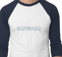Slugger Navy Men's Baseball ¾ T-Shirt