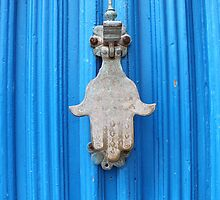 Blue Moroccan Door by KerryPurnell