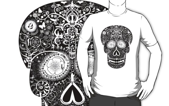 Death Skull T by Shane  Luskie