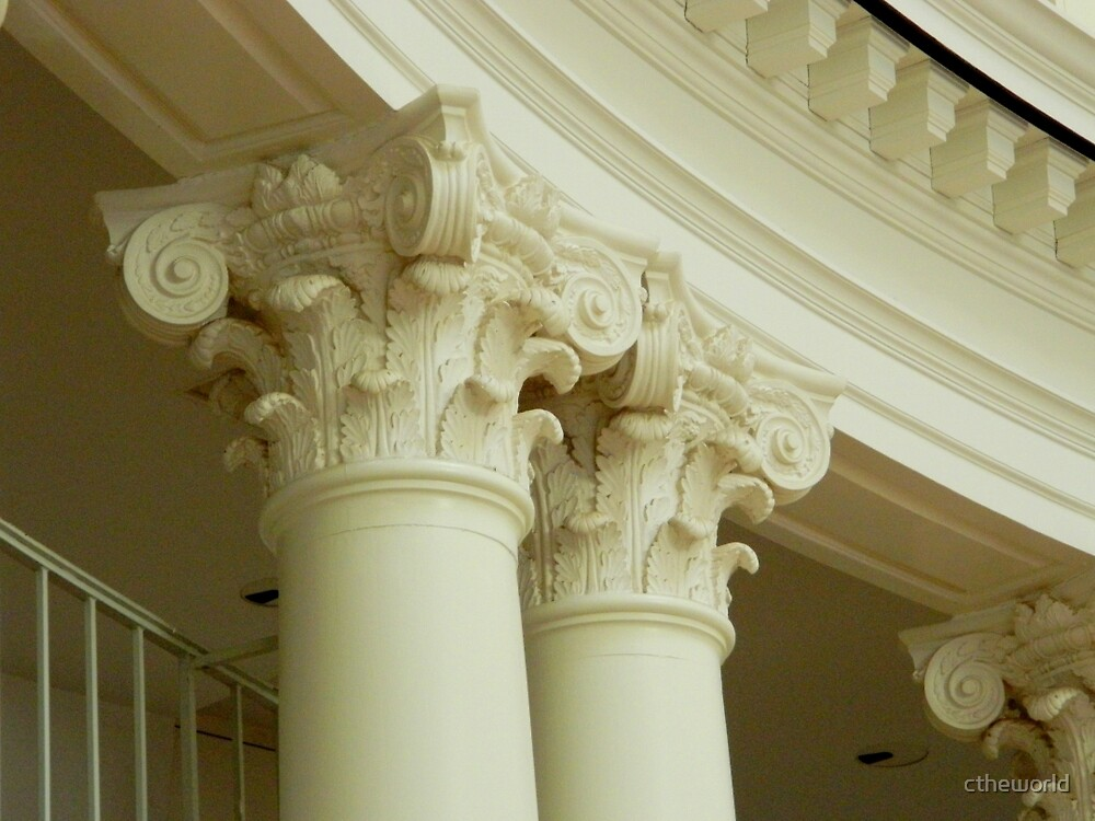 Inside the Rotunda-Architectural Detail       ^ by ctheworld
