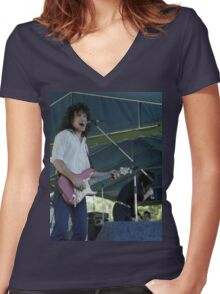Cold Chisel - Ian Moss, North Sydney 1978 Women's Fitted V-Neck T-Shirt