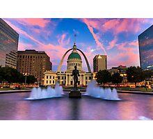 St. Louis Gateway Arch Photographic Print
