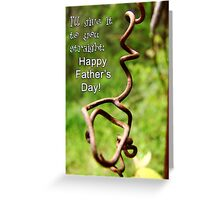 Fatehr's Day Card VII Greeting Card