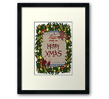 Fargo [Merry Xmas] Framed Print
