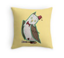 The Eleventh Who Throw Pillow