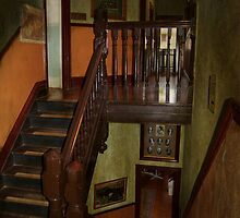 The Haunted Staircase. by Eve Parry