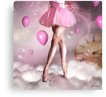 Time to dance Canvas Print