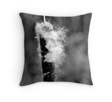 Grey Tails Throw Pillow