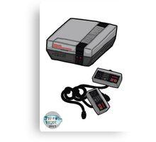 Videogame console #4 Canvas Print
