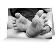 Footsteps On My Heart Greeting Card