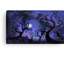 curly trees Canvas Print