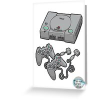 Videogame console Greeting Card