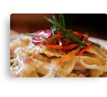 VT Cheddar & Parmesan Mac & Cheese Canvas Print