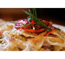 VT Cheddar & Parmesan Mac & Cheese Photographic Print