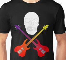 guitar cross bones  Unisex T-Shirt