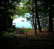 Lake Side View by EmilyDawn