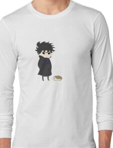 A Detective and His Hedgehog Long Sleeve T-Shirt