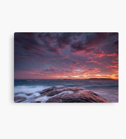 Suprise Sunset - Esperance, WA Canvas Print