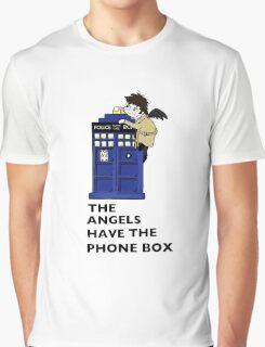 Castiel Has The Phone Box Graphic T-Shirt