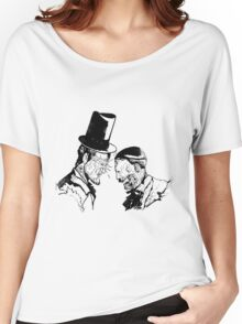 Super Lincoln vs Zombie Hitler Women's Relaxed Fit T-Shirt