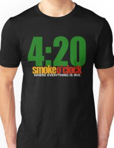 4:20 Smoke O'CLOCK IRIE Unisex T-Shirt