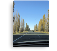 Canberra Turnoff (from Hume Hwy, NSW) Canvas Print
