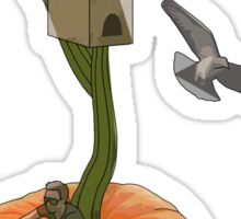 the pumpkin conundrum Sticker