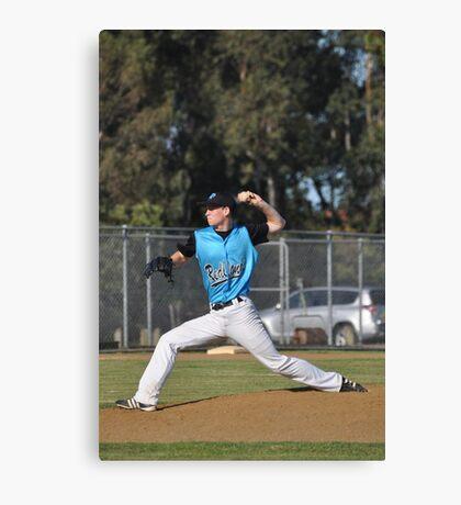 Baseball Pitcher Canvas Print
