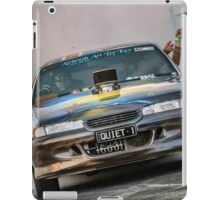 QUIET1 Asponats Burnout iPad Case/Skin