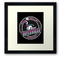 Hill Valley Hoverboard Company Framed Print