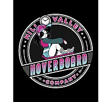 Hill Valley Hoverboard Company Photographic Print