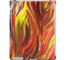 Abstract Flames iPad Case/Skin