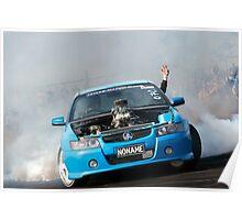 NONAME Asponats Burnout Poster