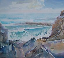 The Rocky Bay by Shoshonan
