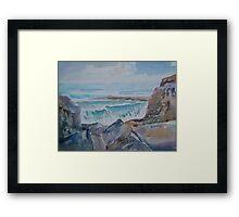 The Rocky Bay Framed Print
