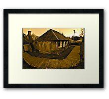 Goldrush. Framed Print