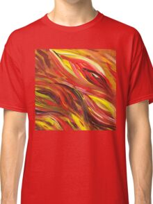 Hot Abstract Flames Classic T-Shirt
