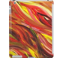Hot Abstract Flames iPad Case/Skin
