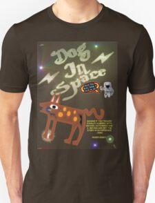 Dog In Space T-shirt Design Unisex T-Shirt