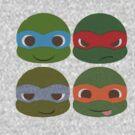 Teenage Mutant Ninja Turtles by Melissa Ellen