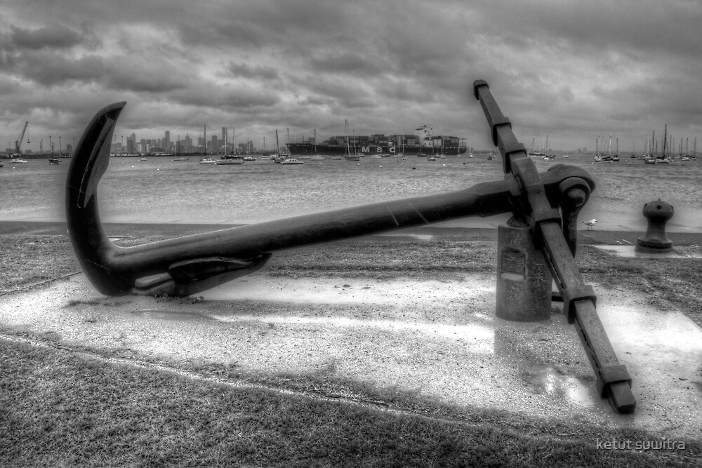 retired anchor by ketut suwitra