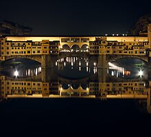 Ponte Vecchio by Night by kirilart