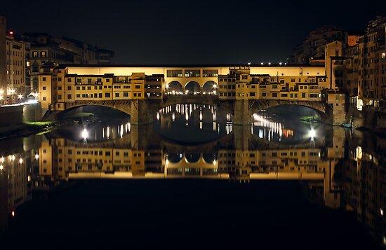 Ponte Vecchio by Night by kirilart