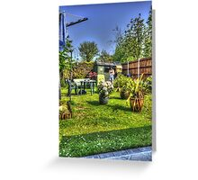 Summer HDR Greeting Card
