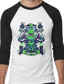 BEHOLD! Obsidian Men's Baseball ¾ T-Shirt