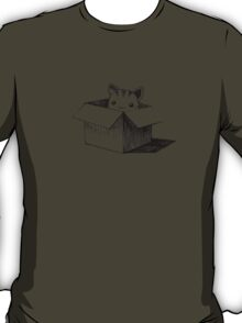Cat in the box T-Shirt