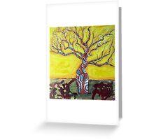 Boab Tree Bright Greeting Card